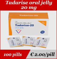 Tadarise Oral Jelly 20mg